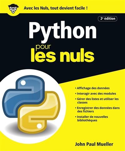 Python / John Paul Mueller | Mueller, John (1958-....). Auteur