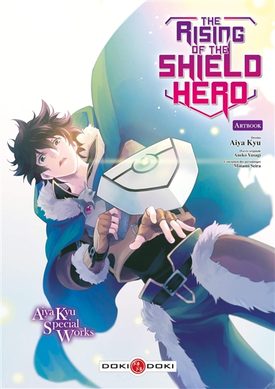 The rising of the shield hero : artbook