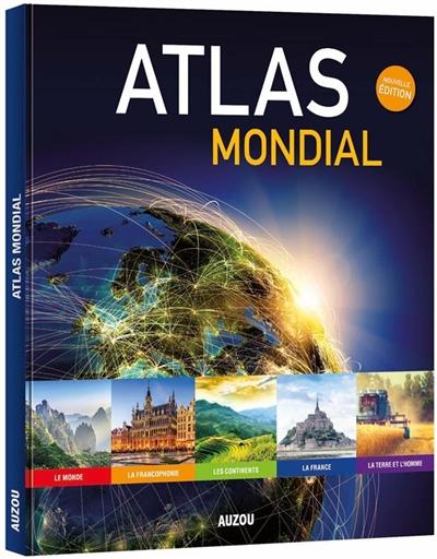 Atlas mondial / Patrick David | David, Patrick (1959-....), auteur