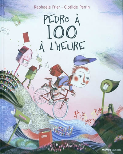 Pedro à 100 à l'heure / texte, Raphaële Frier | Frier, Raphaële (1970-....). Auteur