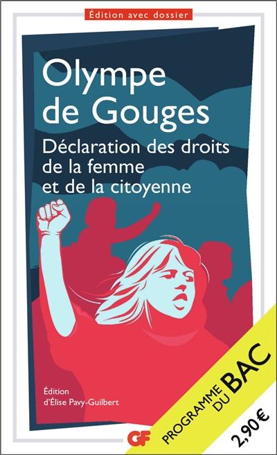 Déclaration des droits de la femme et de la citoyenne : programme du bac