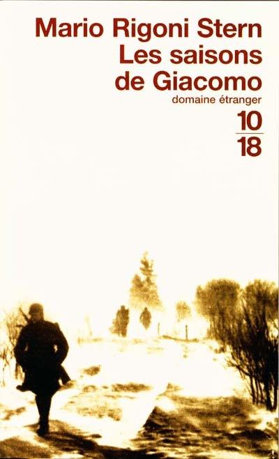 Les saisons de Giacomo / par Mario Rigoni Stern | Rigoni Stern, Mario (1921-2008). Auteur