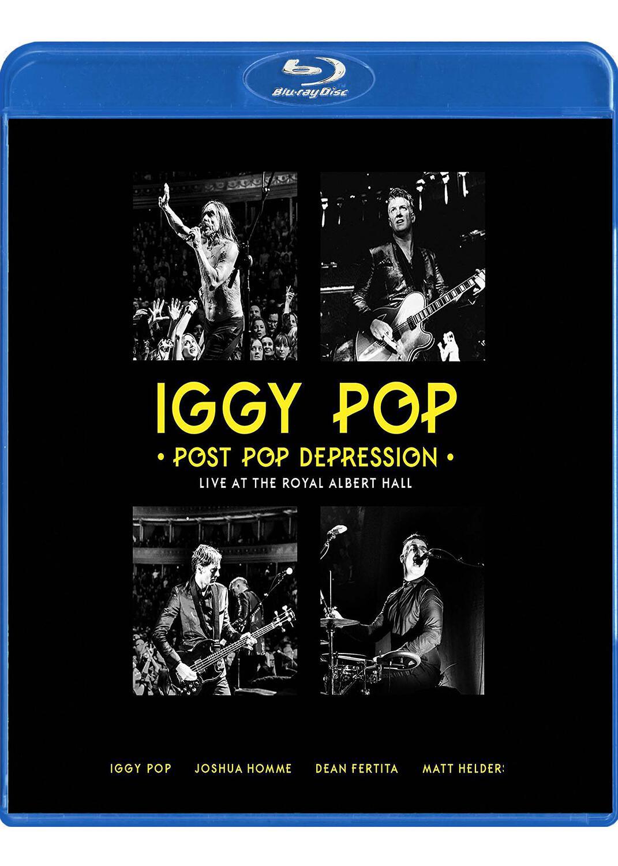 Post pop depression : live at the Royal Albert hall   Iggy Pop (1947-....). Chanteur