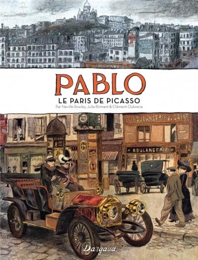Pablo : le Paris de Picasso | Neville Rowley (1978-....). Auteur