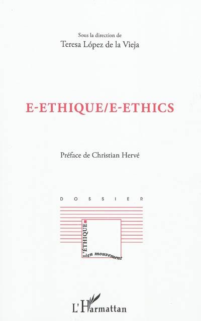E-éthique. E-ethics