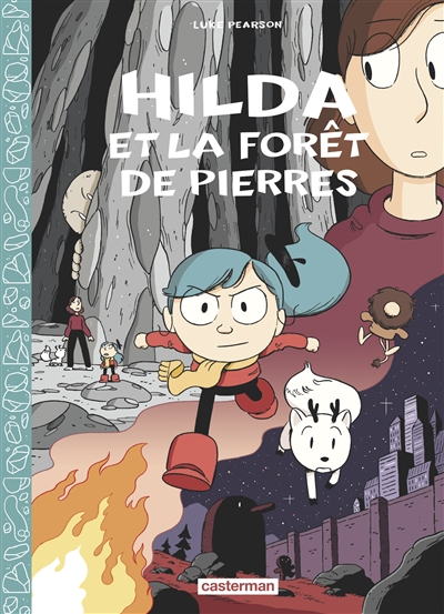 Hilda et la forêt de pierres | Pearson, Luke (1987-....)