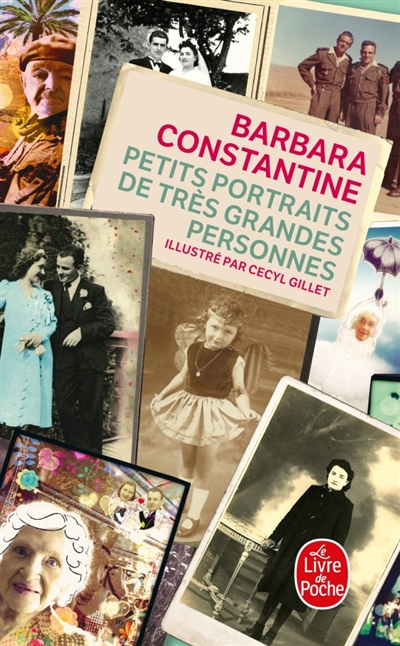 Petits portraits de très grandes personnes / Barbara Constantine | Constantine, Barbara. Auteur