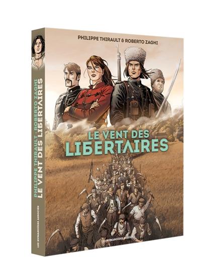 Le vent des libertaires : coffret des tomes 1 et 2