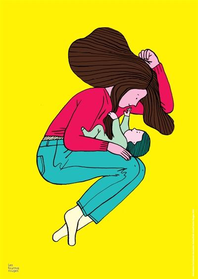 maman c'est comme une maison (Une) | Petit, Aurore (1981-....). Illustrateur