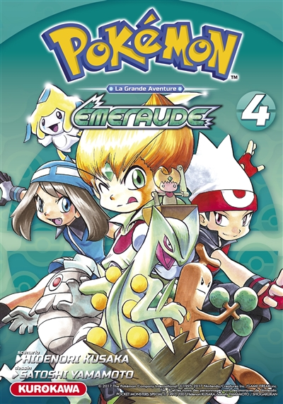 Pokémon : la grande aventure : Emeraude   Kusaka, Hidenori. Auteur