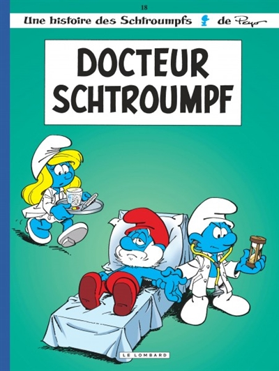 Docteur Schtroumpf / Peyo   Peyo. Auteur