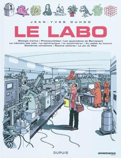 Le labo. 1 | Duhoo, Jean-Yves (1965-....). Auteur