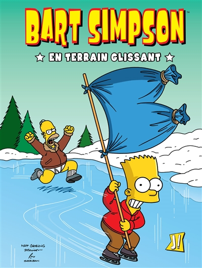 En terrain glissant   Groening, Matt. Auteur