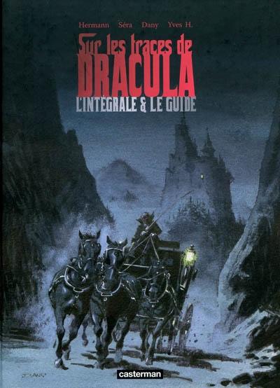 Sur les traces de Dracula : l'intégrale & le guide    Hermann (1938-....). Auteur