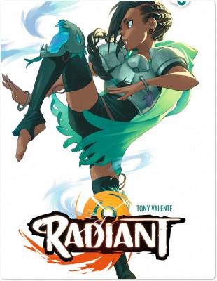 Radiant. 5 / scénario et dessin Tony Valente | Valente, Tony (1984-....). Auteur
