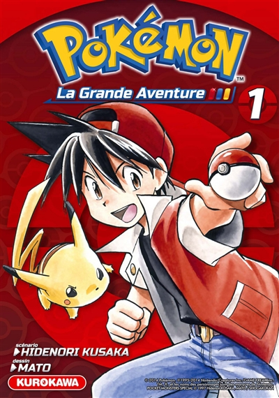 Pokémon : la grande aventure !. 1 / scénario Hidenori Kusaka | Kusaka, Hidenori. Auteur