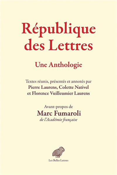 République des lettres : une anthologie