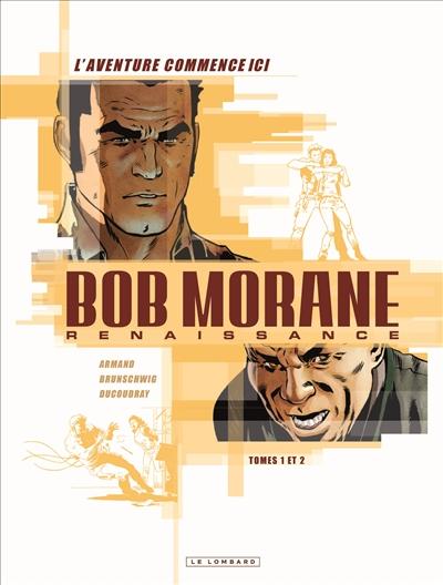 Fourreau Bob Morane : renaissance : tomes 1 et 2
