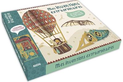 Mes inventions extraordinaires de Léonard de Vinci et de Jules Verne : 5 machines étonnantes à monter et à collectionner