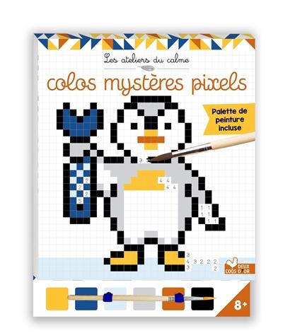 Colos mystères pixels
