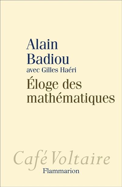 Éloge des mathématiques |
