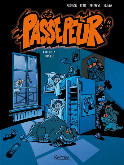 Passepeur. Vol. 1. Rue de la trouille
