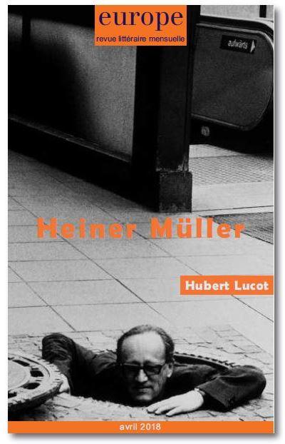 Europe, n° 1068. Heiner Müller