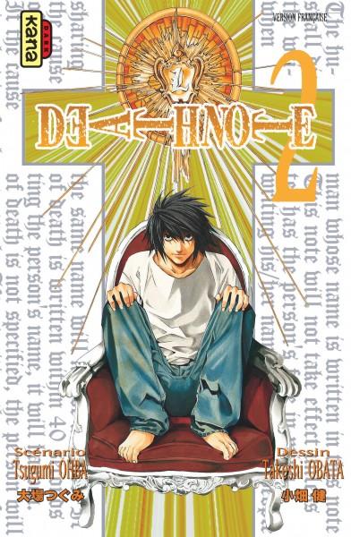 Death note. 02 : manga / scénario Tsugumi Ooba   Ohba, Tsugumi. Auteur