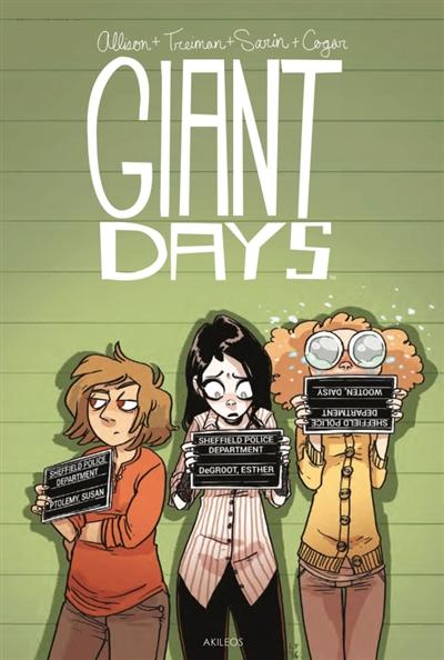 Giant days. 6 | Allison, John (1976-....). Auteur