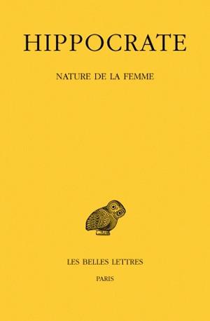 Oeuvres complètes. Vol. 12-1. Nature de la femme