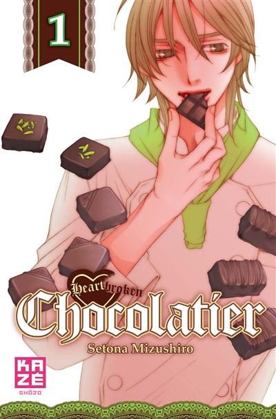 Heartbroken chocolatier. 1 | Setona Mizushiro (1971-....). Auteur