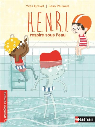 Henri respire sous l'eau | Grevet, Yves. Auteur
