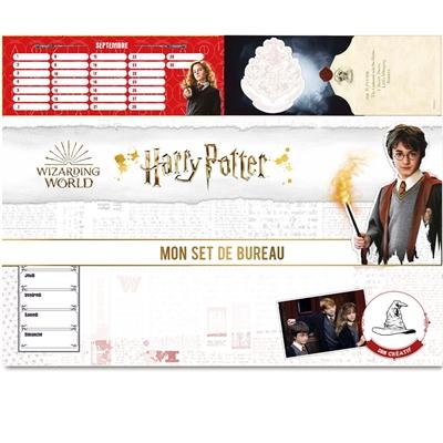 Mon set de bureau Harry Potter