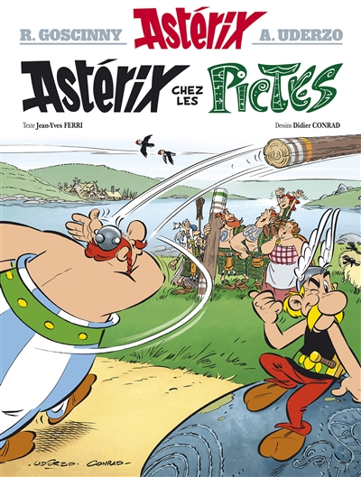 Astérix chez les Pictes | Conrad (1959-....). Illustrateur