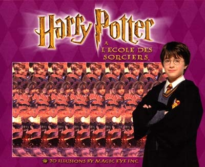 """ Harry Potter"" : 3D illusions / by Magic eye inc. | Magic eye. Auteur"