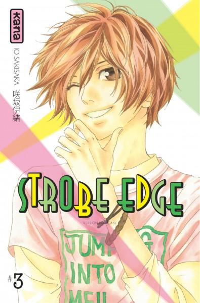Strobe edge. 3   Io Sakisaka. Auteur