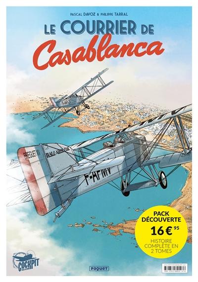 Le courrier de Casablanca : pack découverte : histoire complète en 2 tomes