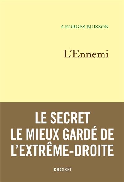 L' ennemi | Buisson, Georges (19..-....). Auteur