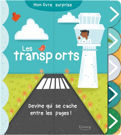 Les transports : devine qui se cache entre les pages !