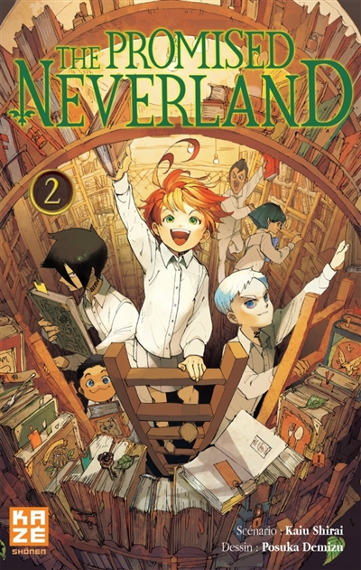The promised neverland. 2 / scénario Kaiu Shirai | Shirai, Kaiu. Auteur