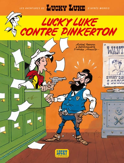 Les aventures de Lucky Luke d'après Morris. Vol. 4. Lucky Luke contre Pinkerton
