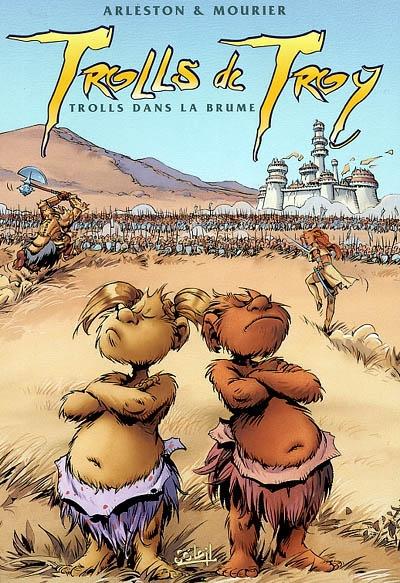 Trolls dans la brume / scénario Christophe Arleston | Arleston, Christophe (1963 - ....). Scénariste
