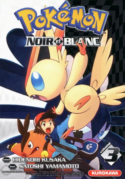 Pokémon : Noir et Blanc. 3 / scénario Hidenori Kusaka   Kusaka, Hidenori. Auteur