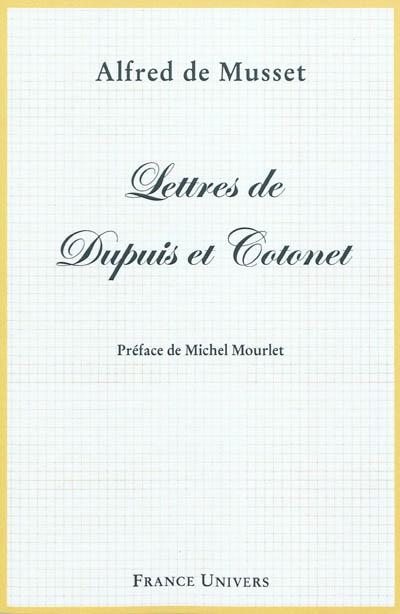 Lettres de Dupuis et Cotonet