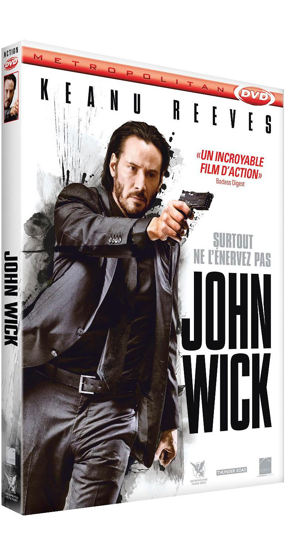 John Wick / film de Chad Stahelski  | Stahelski, Chad (1968-....). Metteur en scène ou réalisateur