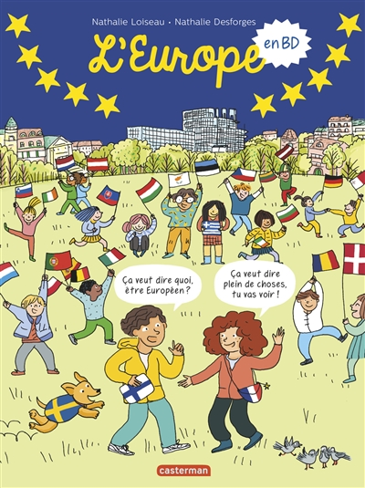 L'Europe : en BD