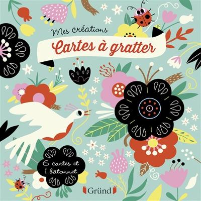 Fleurs : cartes à gratter
