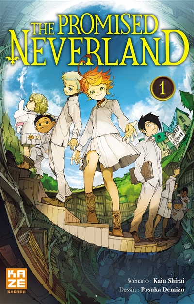 The promised neverland. 1 / scénario Kaiu Shirai | Shirai, Kaiu. Auteur