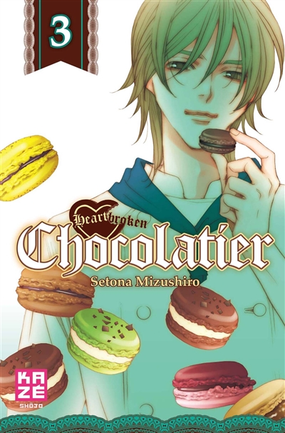 Heartbroken chocolatier. 3 | Setona Mizushiro (1971-....). Auteur