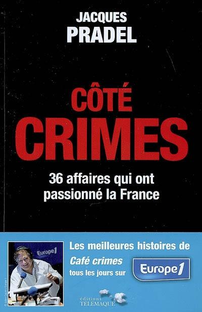 Côté crimes / Jacques Pradel | Pradel, Jacques. Auteur